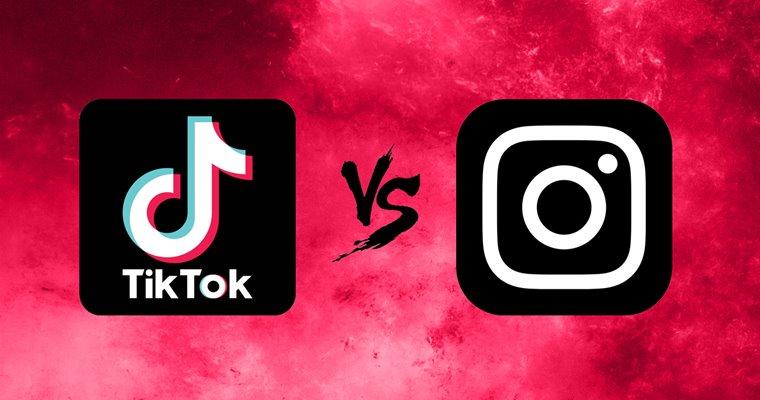 TikTok и Instagram