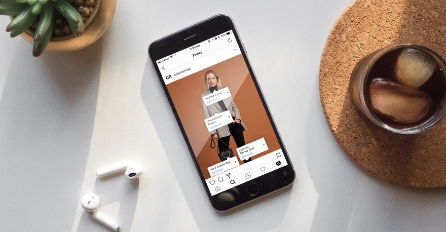 Продвигающий визуал в Инстаграм